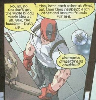 The Deadpool movie script gets a B