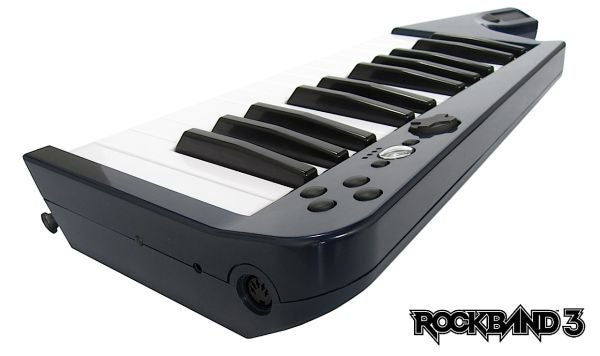 Rock Band 3's Keyboard Bundle, For PS3, Won't Be Sold In North America