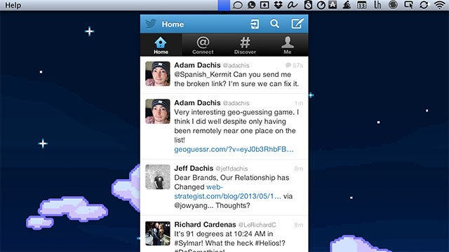 BirdDrop Puts Twitter in Your OS X Menubar