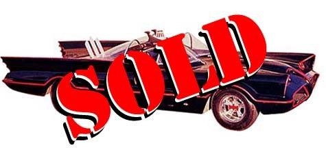 Batmobile #6 Sells For 119K