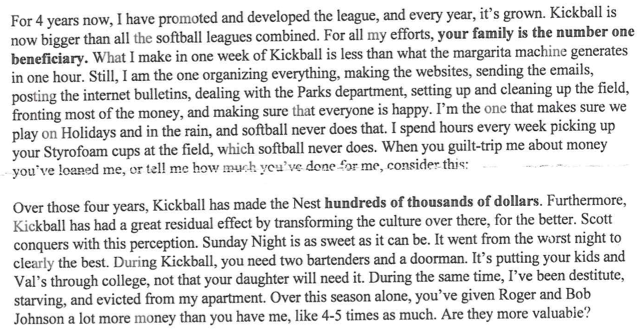 Hipster Kickball Scandal: Dive Bar Served with List of Demands
