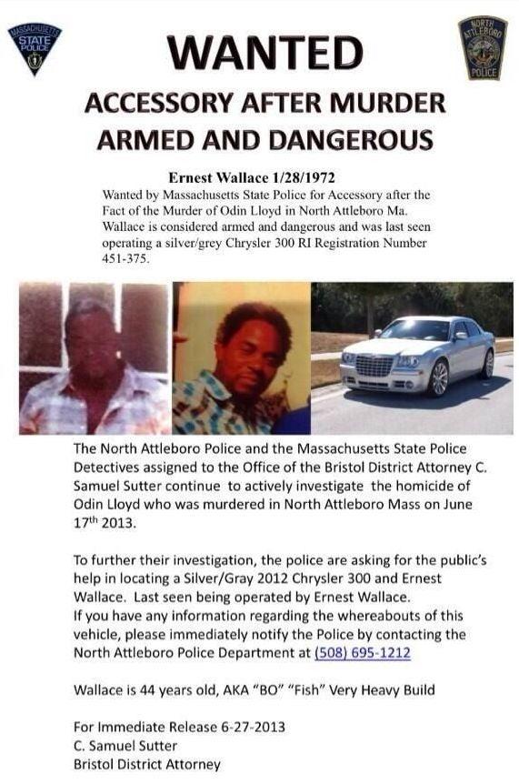 Third Man Wanted In Aaron Hernandez Murder Case Has Been Identified