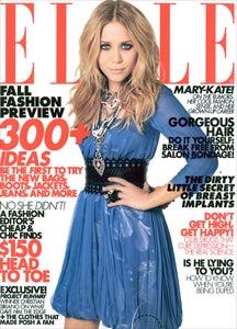 Mary-Kate Olsen In Elle: Holy Trashbag!