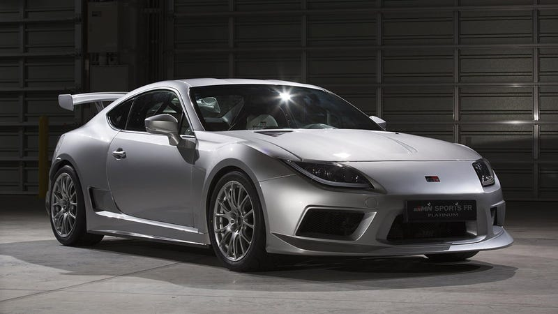 Why Is Toyota Showing Off A Scion FR-S That Looks Like A Supra?
