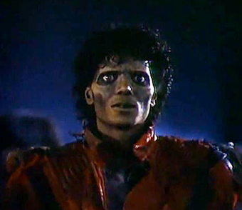 The Thriller movie will be 90 minutes of zombie Michael Jackson staring at you