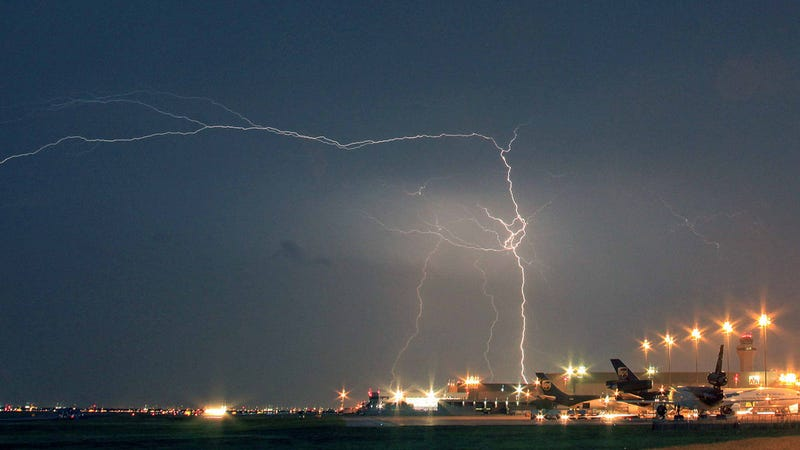 Invisible Lightning Strikes Could Be Bombarding Planes With Radiation