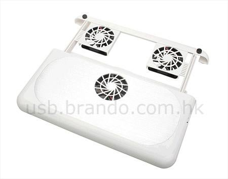 USB Retractable Notebook Cooling Pad: Feel Free to Blog Naked!