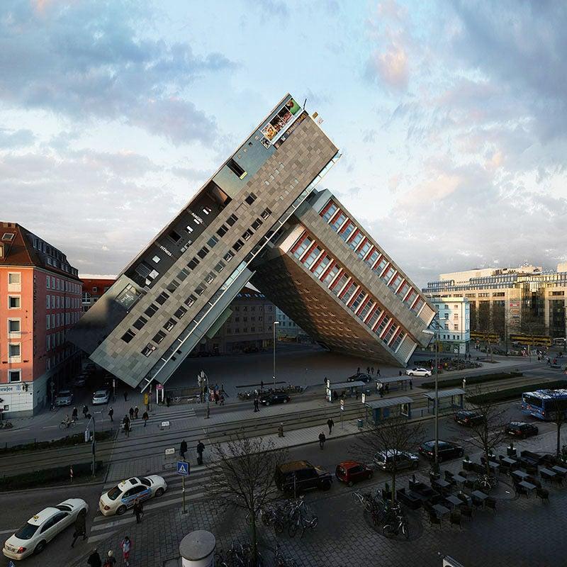 Whoa, Watch This Hotel in Munich Get Transformed in 88 Different Ways