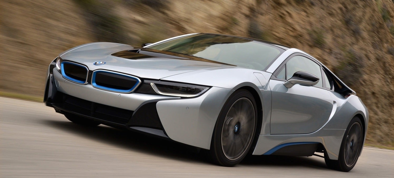 The BMW i8 is the car of my near future dreams