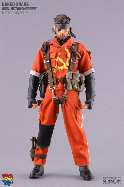 New Metal Gear Figure As Expensive As It Is Orange