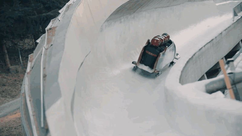Nissan Made This Hilariously Goofy And Bad Bobsled