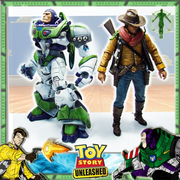 Grittier Toy Story action figures show how terrifying Buzz and Woody could be