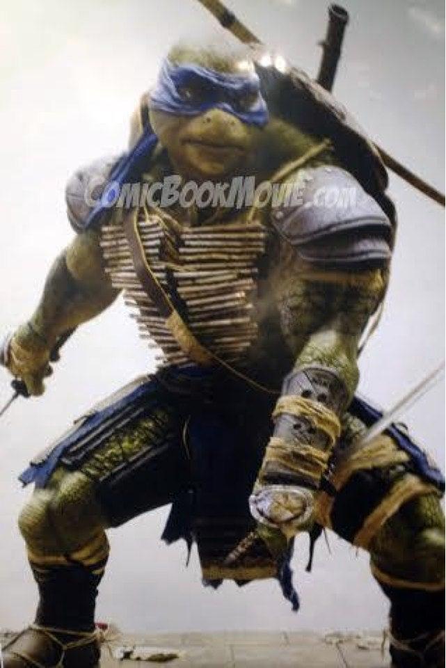 Michael Bay's Teenage Mutant Ninja Turtles don't look bad at all