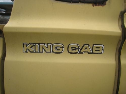 1976 Datsun Pickup Down On The Junkyard