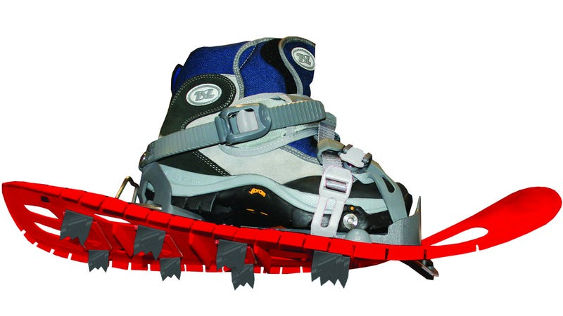 Flexible Snowshoes Are Like Wearing Comfy Sneakers That Stop You From Sinking
