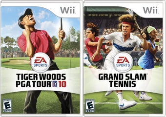 Wii Tiger Woods And Grand Slam Tennis Scootch Up A Week