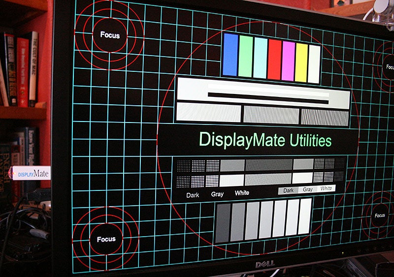 DisplayMate USB, Easy Test Patterns Directly From a Thumb Drive