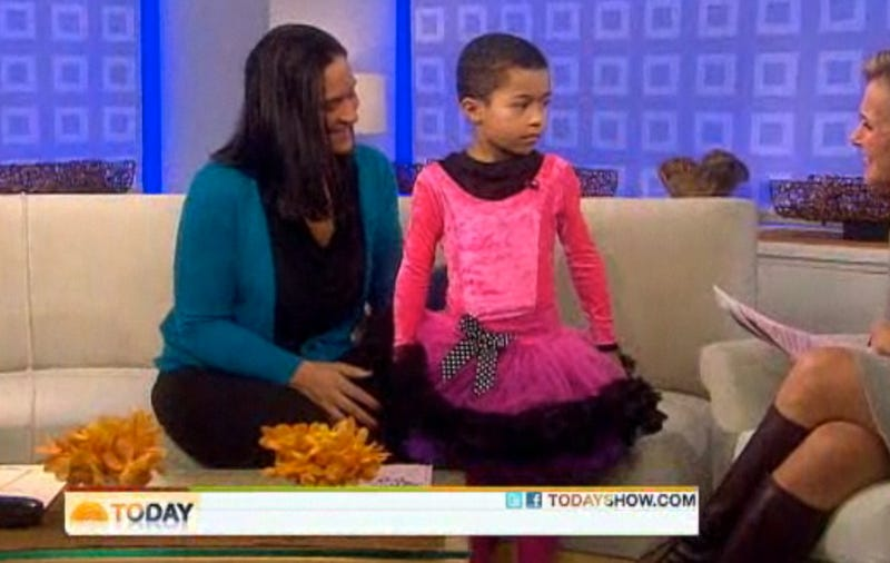 Princess Boy Appears In Pink Floofy Skirts, Made To Twirl By Meredith Vieira