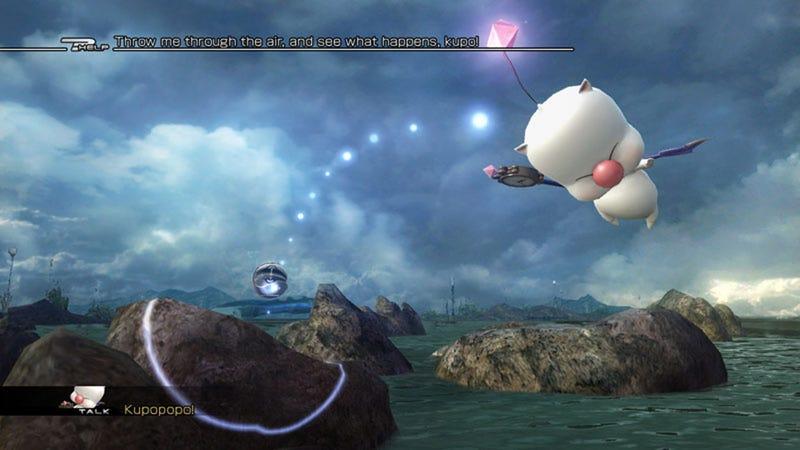 It's Moogle Magic Time in Final Fantasy XIII-2