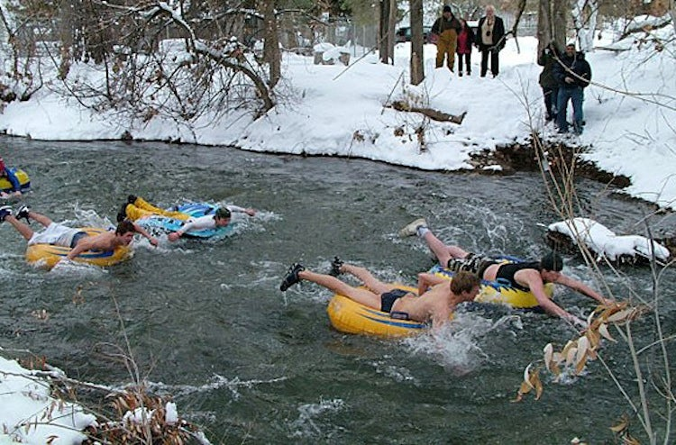 Chainsaws, Costumes, & Skinny Dipping: Weirdest Winter Fests