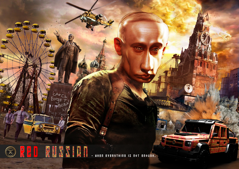 In Post-Apocalyptic Russia, Putin Stars In Die Hard, Everything Explodes