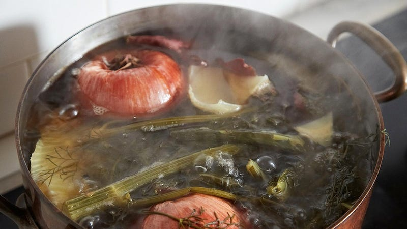 Make Your Own No-Hassle Vegetable Stock Without a Recipe