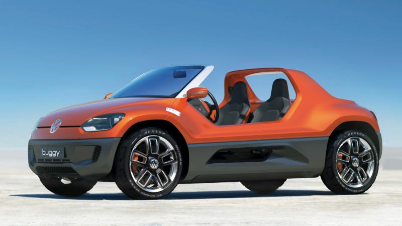 Volkswagen Might Sell Us The up! Without Doors Or A Roof