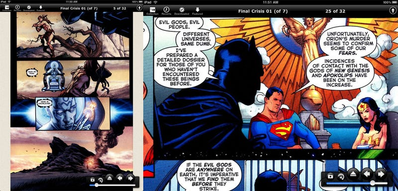 Best iPad Comic Reader: Comic Zeal vs. Comic Reader Mobi