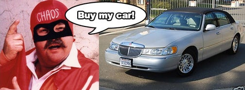 Dom Deluise's Lincoln Town Car: Buy It Now For Only $6,900