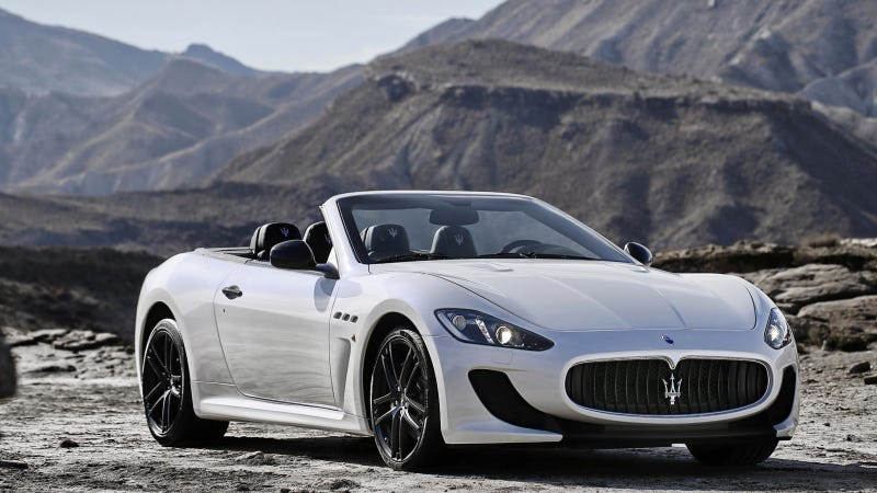 Maserati's MC Stradale Loses The Roof And Adds Seats