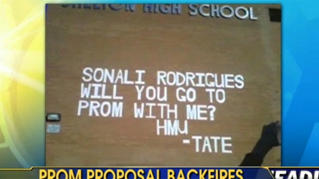 Boy's Romantic Prom Invite Gets Him Banned from Prom