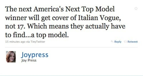 Breaking: Next Top Model Will Get A Major Upgrade