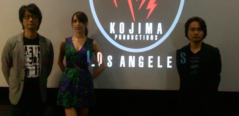 Kojima Talks Metal Gear Solid V, Clones & Sexiness