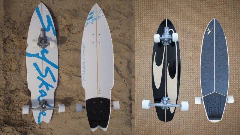 360-Degree Trucks Make This Skateboard Ride Like a Surfboard