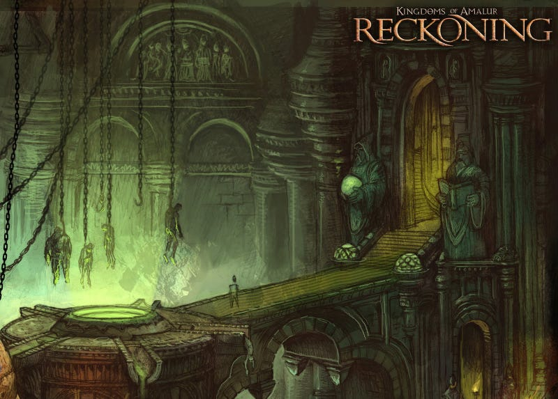 Reckon With Some of Kingdoms of Amalur's Concept Art (Sorry)