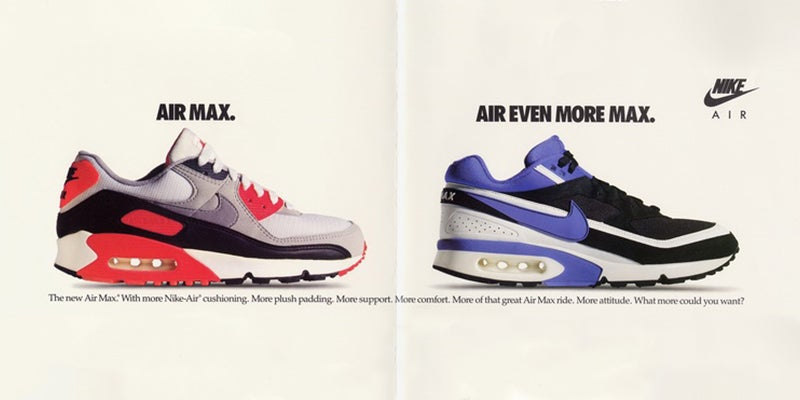The Absurd History of Nike Air Technology