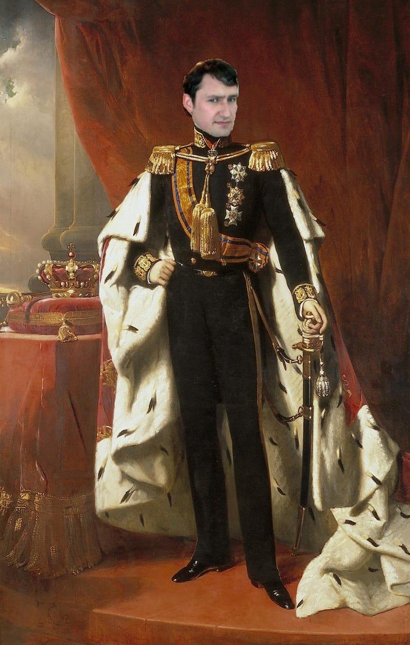 KING GEORGE XXVIII OF JALOPNIK