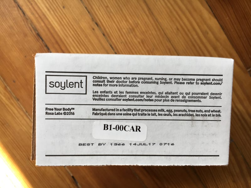 More Details Emerge About the Soylent Food Bars Making People Sick