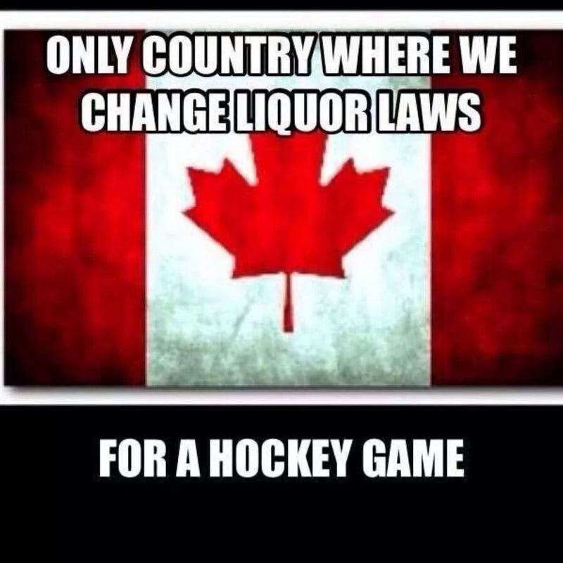Alright, Canadians, this is for you.