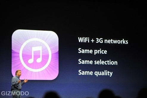 iTunes Gets DRM Free, New Prices, Purchase Over 3G