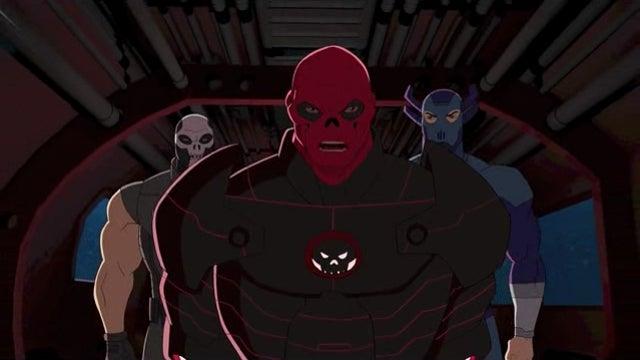 The Red Skull stars in the return of Avengers Assemble