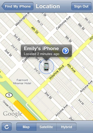 """""""Find My iPhone"""" App Locates Lost Apple Gadgets"""