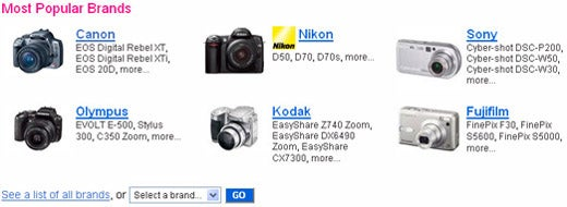 Flickr Camera Finder Helps Your Next Camera Purchase