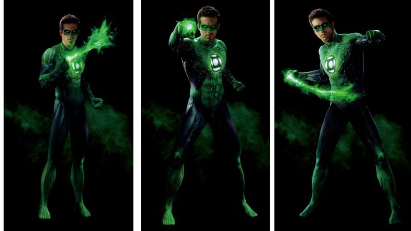 Inspect Ryan Reynolds computer-generated Green Lantern suit with 3 new high-res images