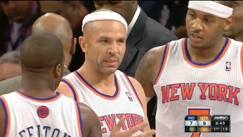 Jason Kidd Plus A Scalp Wound Plus A Headband Equals A Wes Anderson Character