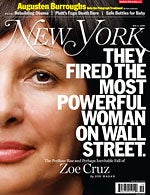 """Zoe Cruz Told Mortgage Traders To """"Cut Losses,"""" But They Thought She Was Just High On Crack"""