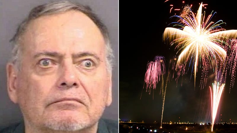 Florida Man Douses Street In Gasoline To Stop Fireworks Show