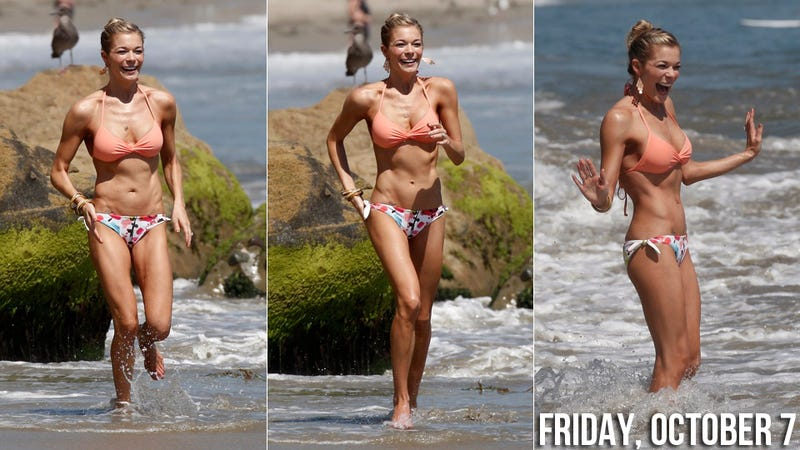 LeAnn Rimes Explains That Weight Loss Is 'A Natural Progression Of Life'