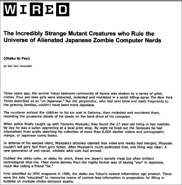 Wired Ran Rehashed Article In Its Inaugural Issue
