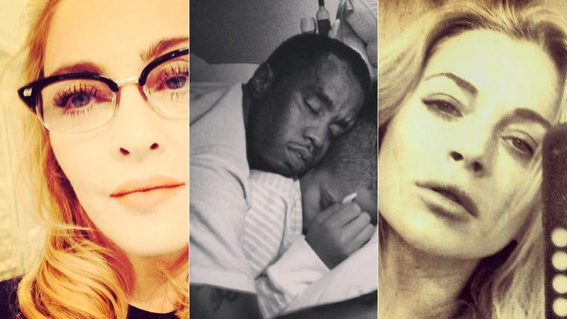 Selfie Loathing: What Celebrities Did on Instagram This Week